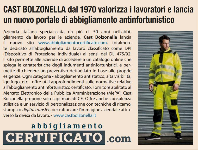 Cast Bolzonella su Il Sole 24 Ore